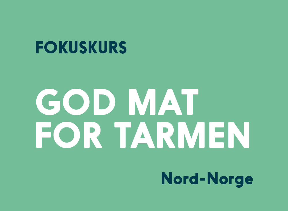God Mat For Tarmen Kurs Nord-Norge