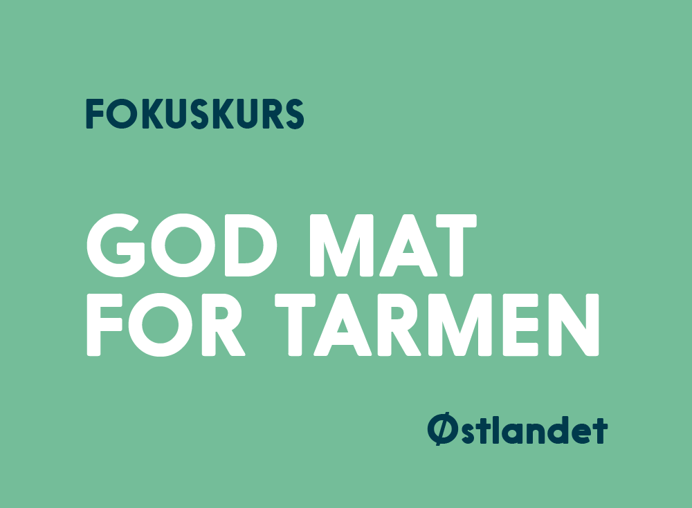 God Mat For Tarmen Kurs Østlandet
