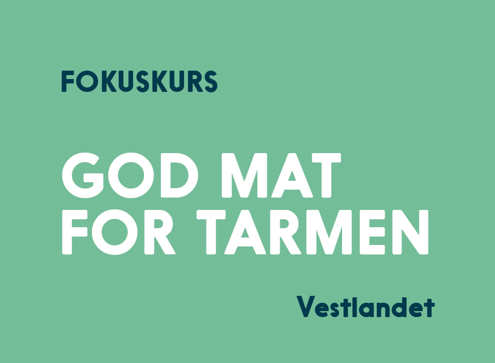 God Mat For Tarmen Kurs Vestlandet