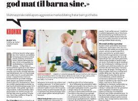 Småbarnsfamilier i flere generasjoner har mistet troen på at de selv kan lage sunn og god mat til barna sine