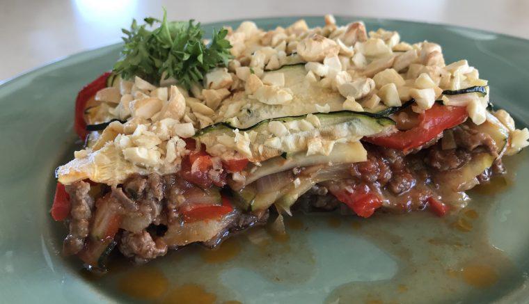 Lasagne med «grønnsaksplater»