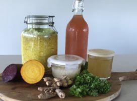 Live-kurs: god tarmhelse med fermentert mat og drikke
