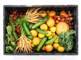 Mindre stress med frukt og grønt