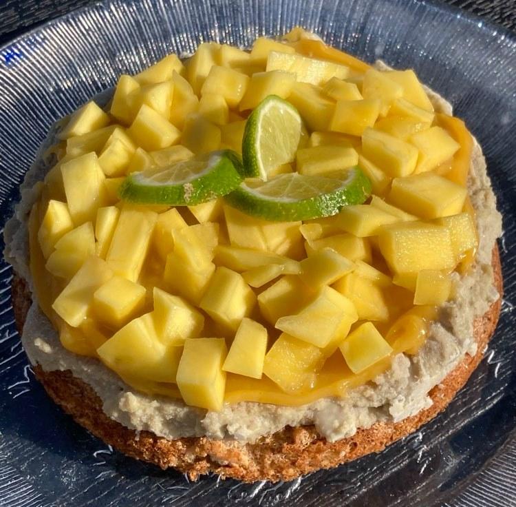 Frisk og sødmefyll gluten- og melkefri kake til påsken