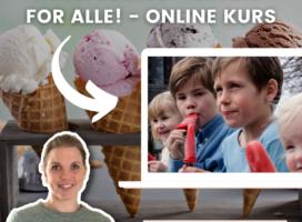 Hjemmelaget iskrem for alle – onlinekurs
